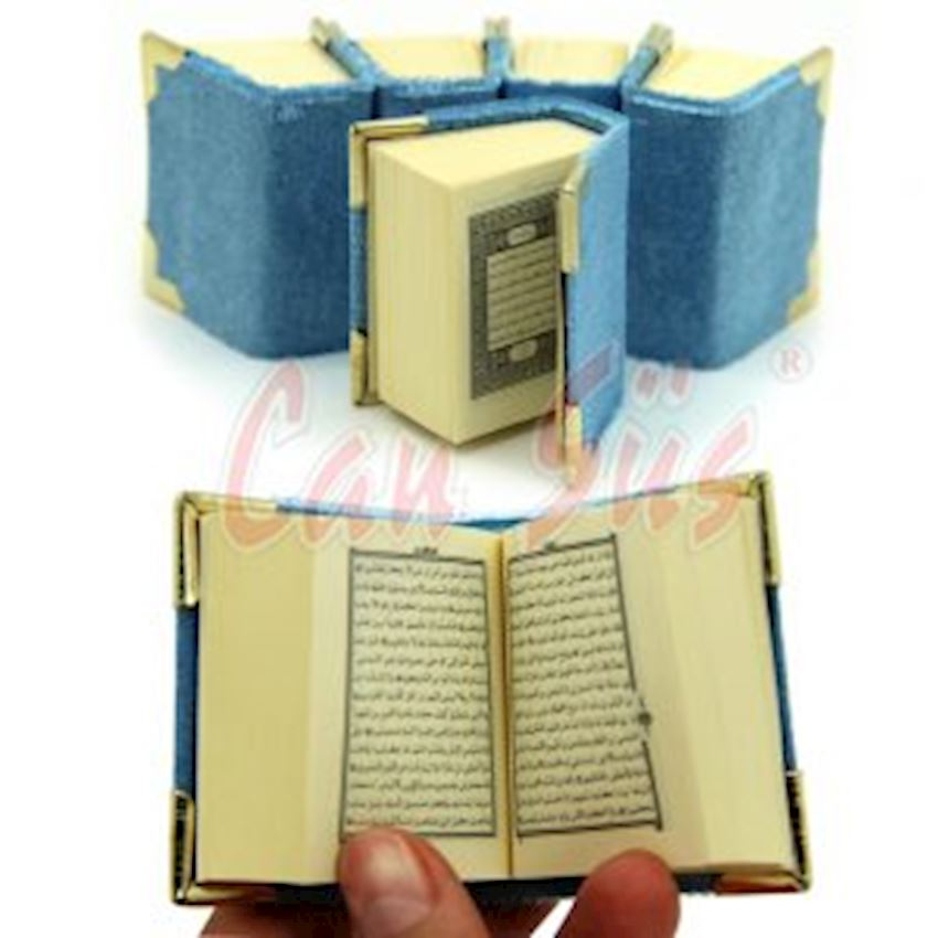Quran Mini Holy Quran Blue Event & Party Supplies