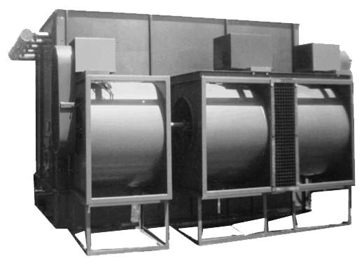 Radial Fan Cooling Towers