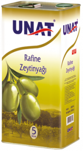 Rafine Olive Oil 5 Lt, Tin