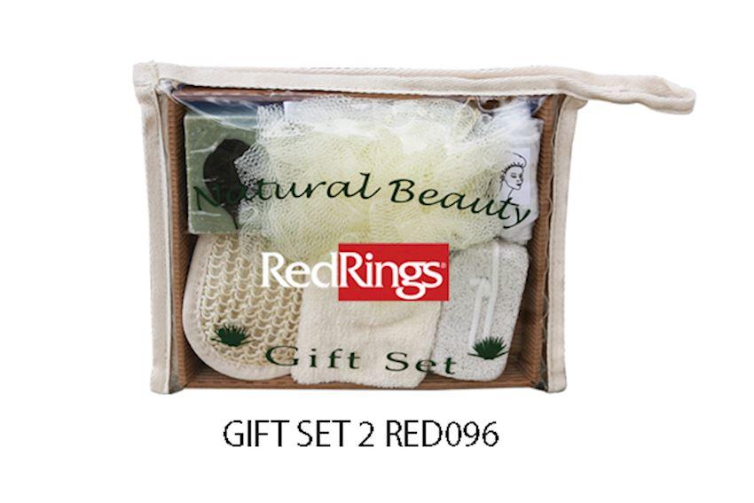 Redrings Gift Set 2 Bath Brushes, Sponges & Scrubbers