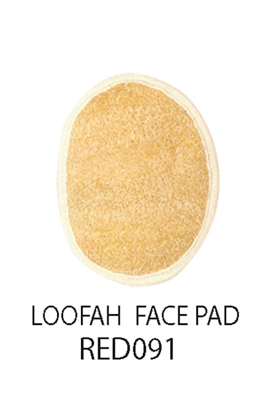 Redrings Loofah Face Pad  Bath Brushes, Sponges & Scrubbers