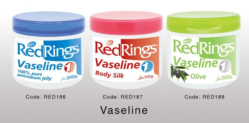 Redrings Vaseline Body Silk 300g Red187 Health Care Products