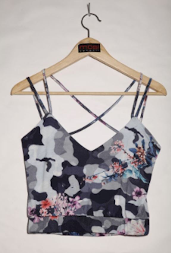 Rope Camouflage Pattern Top