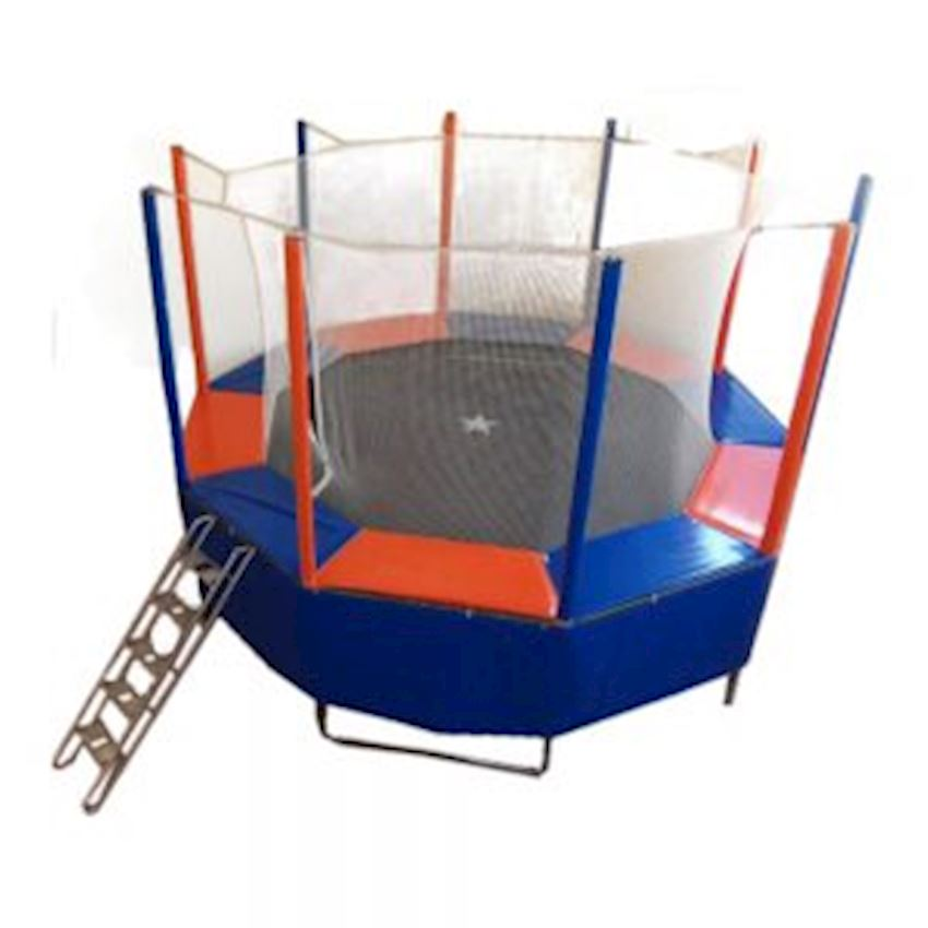 Round Trampoline with Protected 320/350 cm (10 gen) Amusement Park