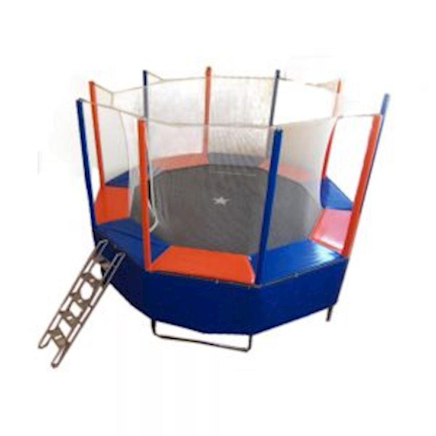 Round Trampoline with Protection 240/250 cm (10 gen) Amusement Park