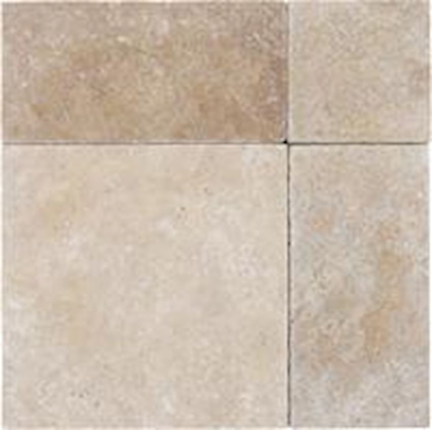Rustic Travertine Paver Tumbled Marble Stone