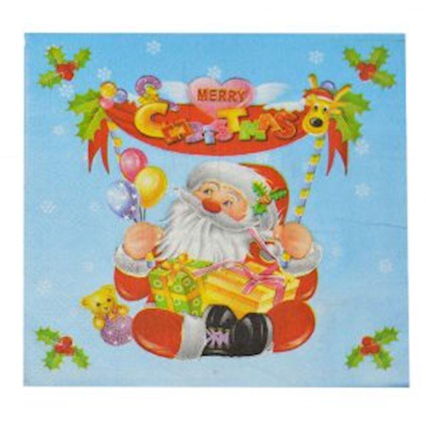 Santa Claus Christmas Napkin Assorted Christmas Decoration Supplies