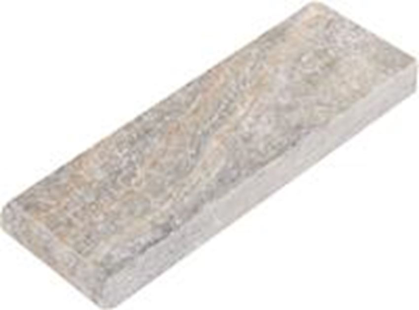 Scabas Travertine Bullnose Pool Coping Tumbled Marble Stone