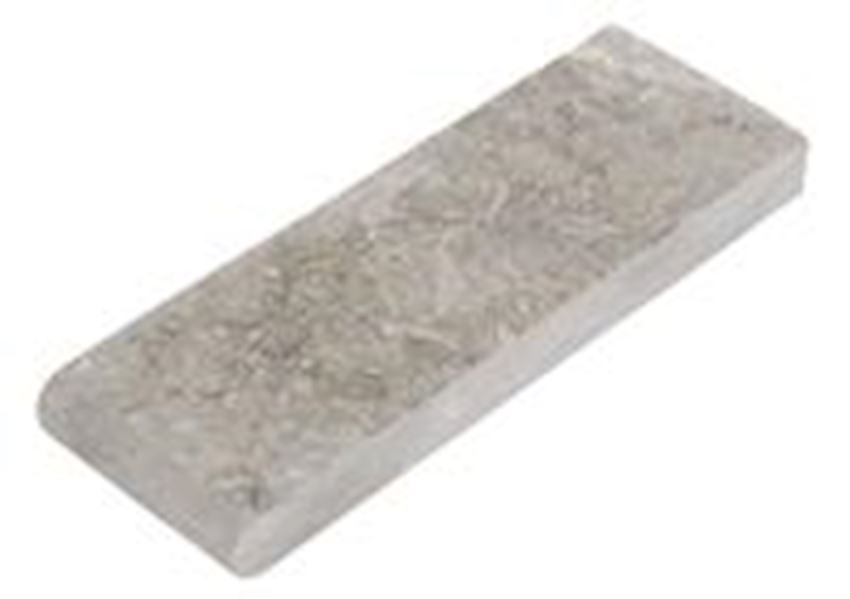 Seagrass Bullnose Pool Coping Flamed Marble Stone