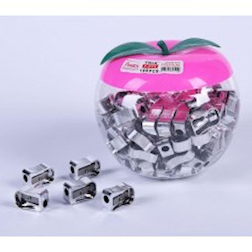 Sharpener - Jar - Silver Pencil Sharpeners
