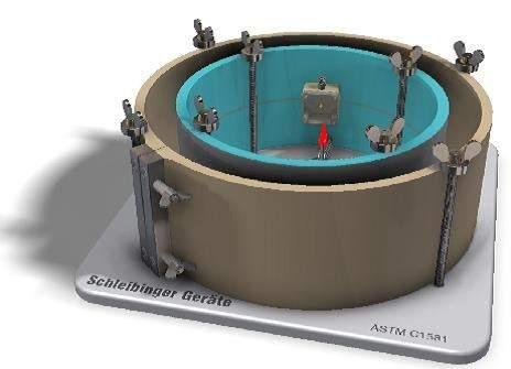 Shrinkage Ring -ASTM Measuring the Restrained Shrinkage