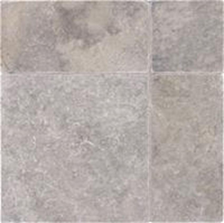 Silver Travertine Paver Tumbled Marble Stone