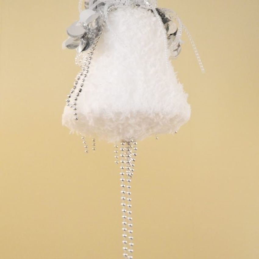 Single Cotton Bell Ceiling Ornament Christmas Decoration Supplies