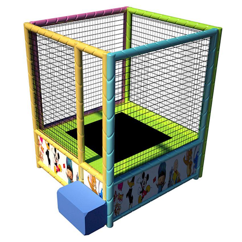 Single Trampoline 160x160x200 cm Amusement Park