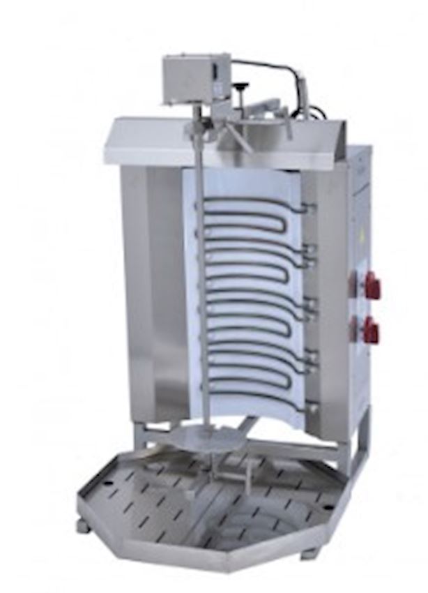 SMALL ELECTRIC ROTARY OVEN WITH TOP MOTOR 380V