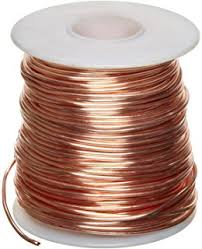 Smooth Bunched Bare Copper Conductors Acc, to ASTM