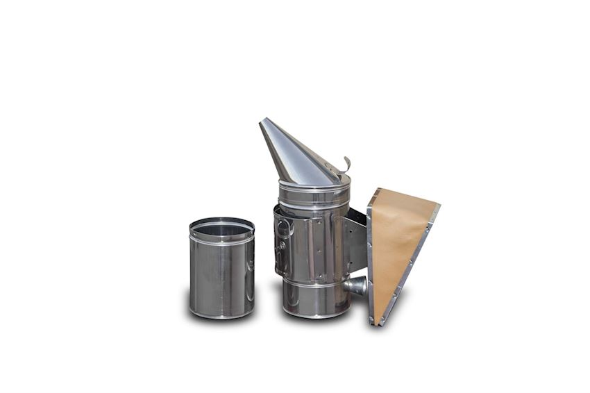 Smoker with Bucket - Stainless Steel