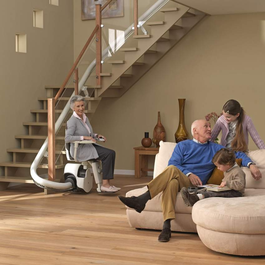 Stair Lifts for all staircases