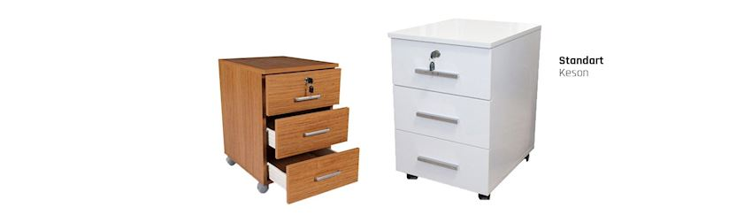 Standard Office Cabinet Storage Unit Caisson
