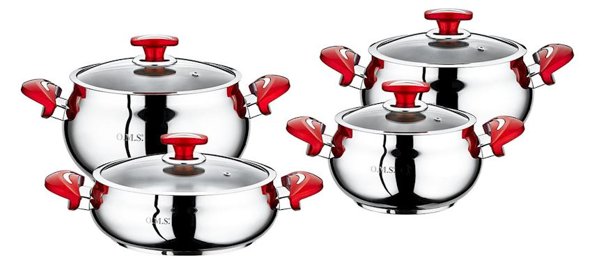 Steel Product Pot Sets 1003