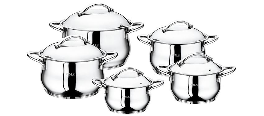 Steel Product Pot Sets 1004