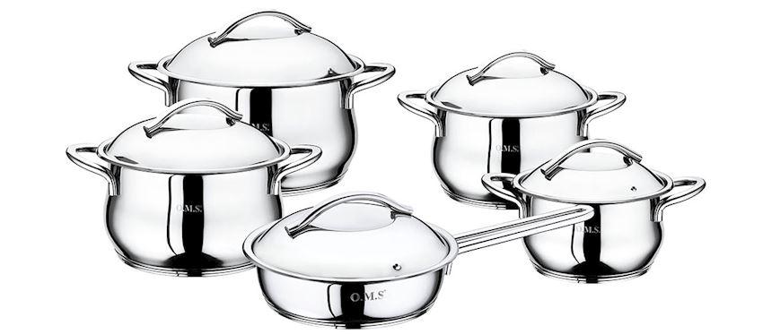 Steel Product Pot Sets 1004-F