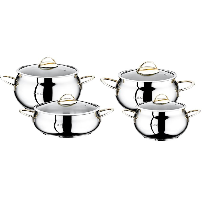 Steel Product Pot Sets 1006-G
