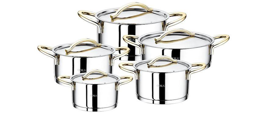 Steel Product Pot Sets 1011