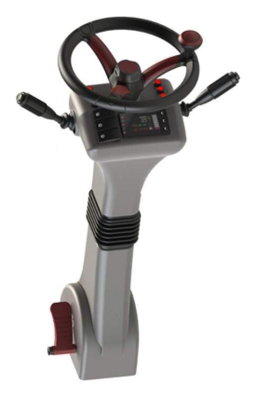 Steering Parts Sleek, w/display