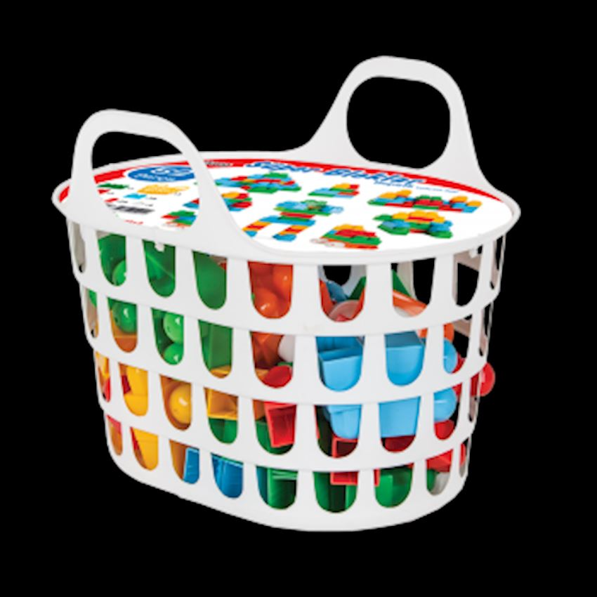 Super Blocks with Basket (52 Pieces) Other Educational Toys