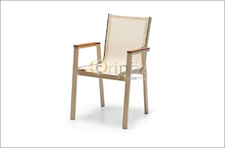TABLE, CHAIR, DECK CHAIR-Alumınıum Chairs-Aluminum Chaır Models-OTTOWA