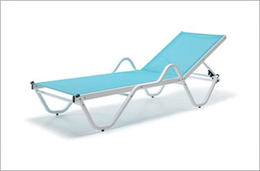 TABLE, CHAIR, DECK CHAIR-Alumınıum Deck Chairs-Aluminum Sunbed Models-FERRARI