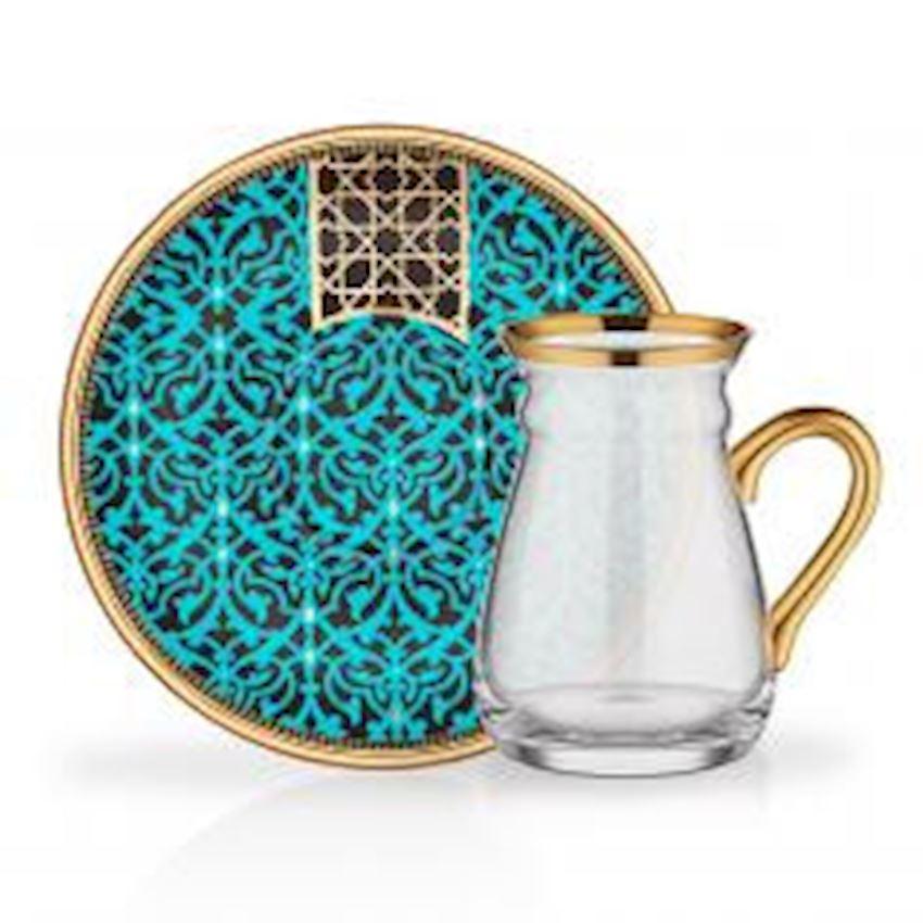 Tea Sets NIHAVENT HANDLE TEA ST 6 PIECE 6 LI ALARA