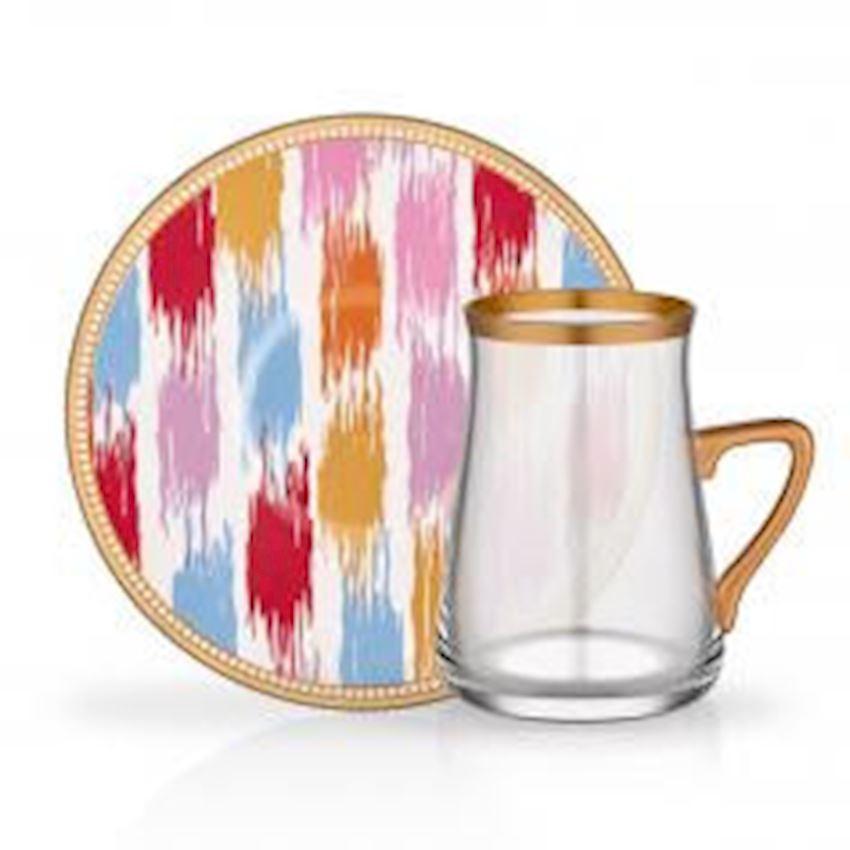 Tea Sets NIHAVENT HANDLE TEA ST 6 PIECE EKOSEGREEN