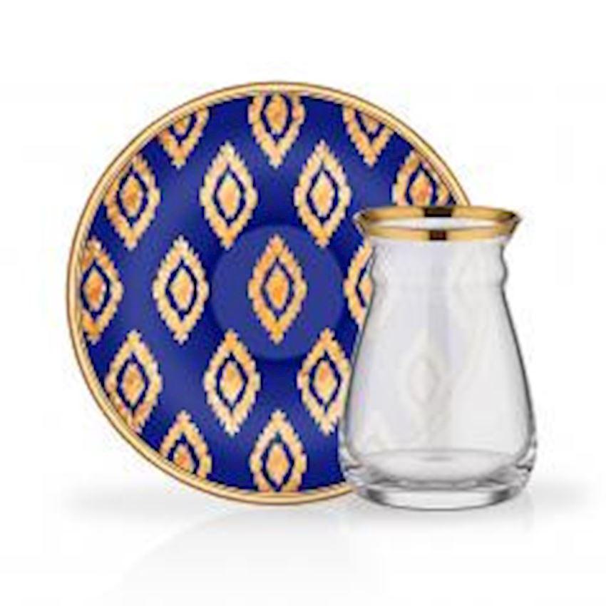Tea Sets NIHAVENT TEA ST 6 PIECE ANITA COBALT BLUE