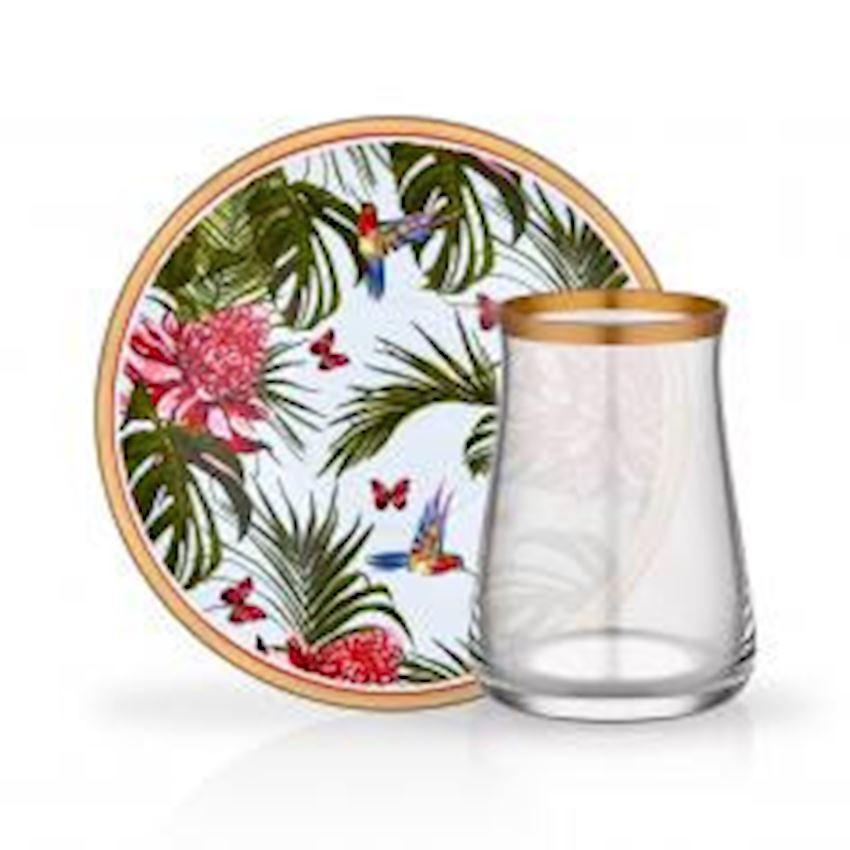 Tea Sets NIHAVENT TEA ST 6 PIECE LEOPAR