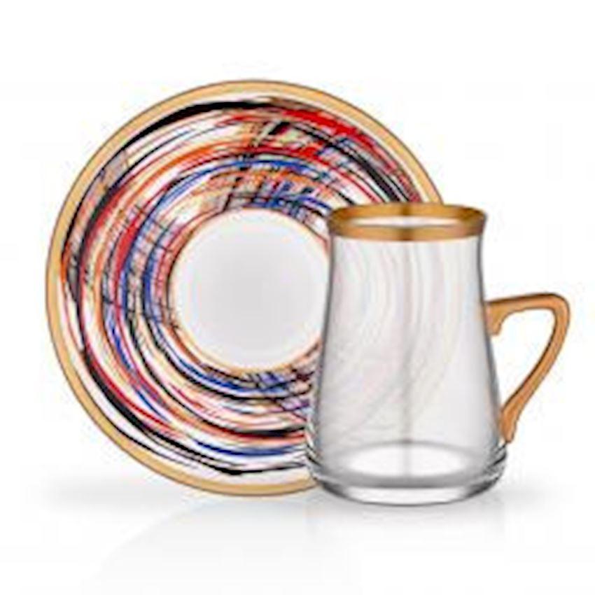 Tea Sets TARABYA HANDLE TEA ST 6 PIECE ADRIANA