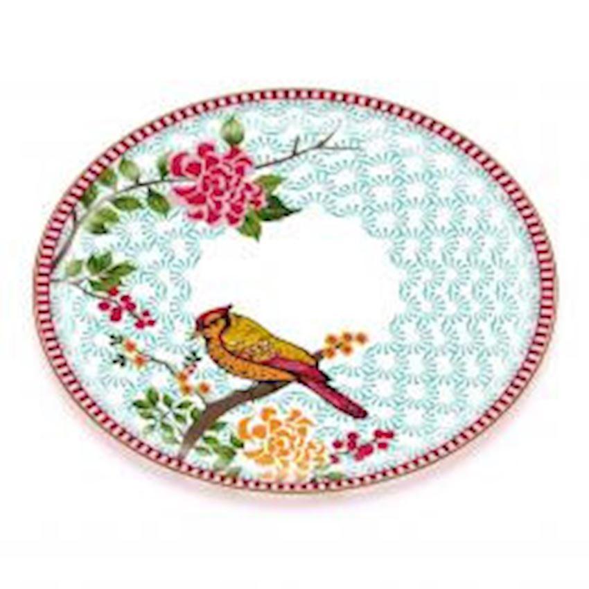 Tea Sets Tea Tray MILA MAT GOLD GLASS TRAY 35*35