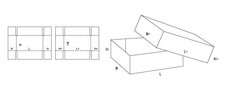 Telescopic Box Fefco 300