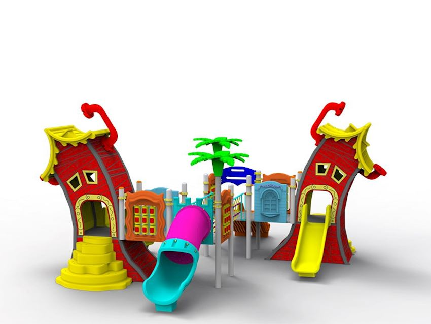 Theme Series/Curved House Playground