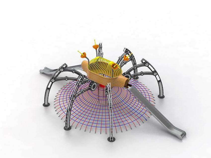 Theme Series/Spider Playground