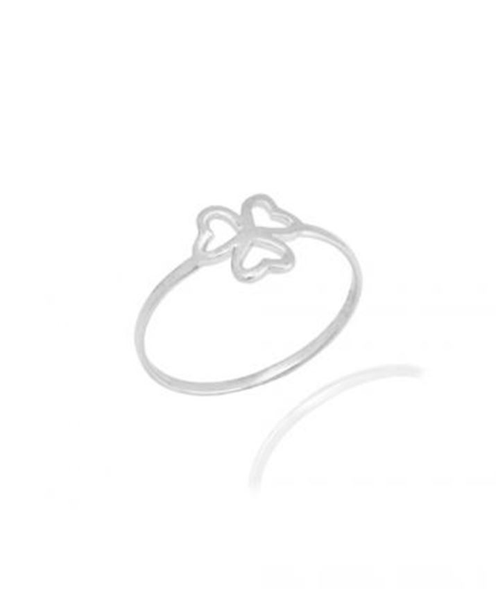 Thin Clover Ring
