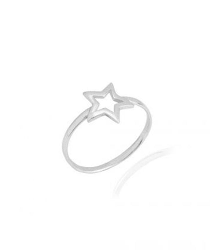 Thin Star Ring
