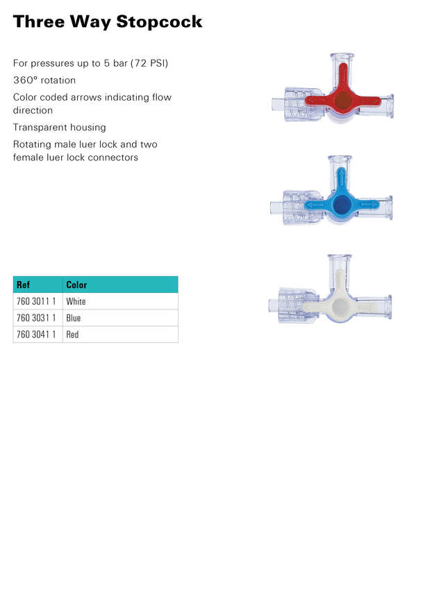 Three Way Stopcock Surgical Instruments / Product Info - TraGate