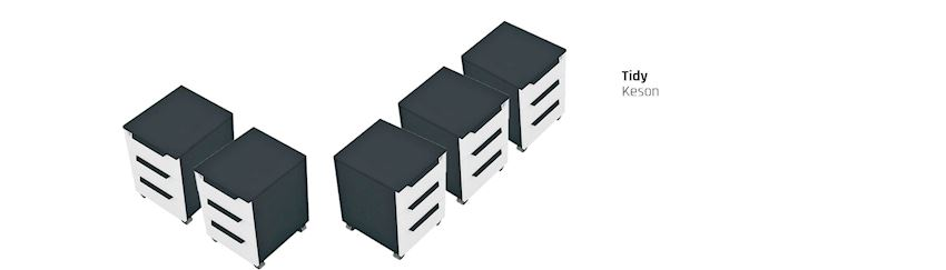 Tidy Office Cabinet Storage Unit Caisson