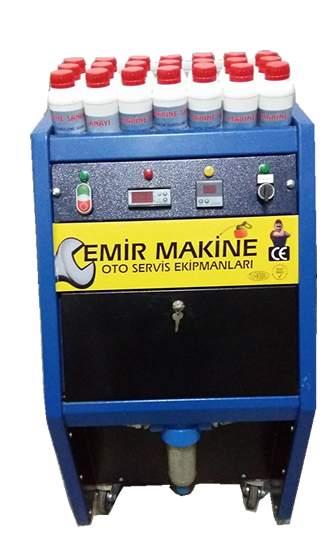 Torpedo Disassembling Auto Heater Honeycomb Cleaning Machine