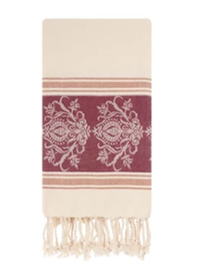 Towel -AVANOS JACQUARD PESHTEMAL