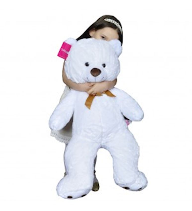Toy Animal -PLUSH ANIMALS BEAR WHITE