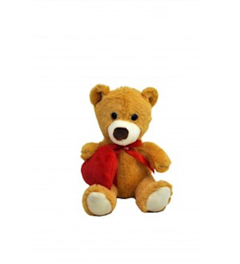 Toy Animal -PLUSH ANIMALS  BEAR WITH HEART