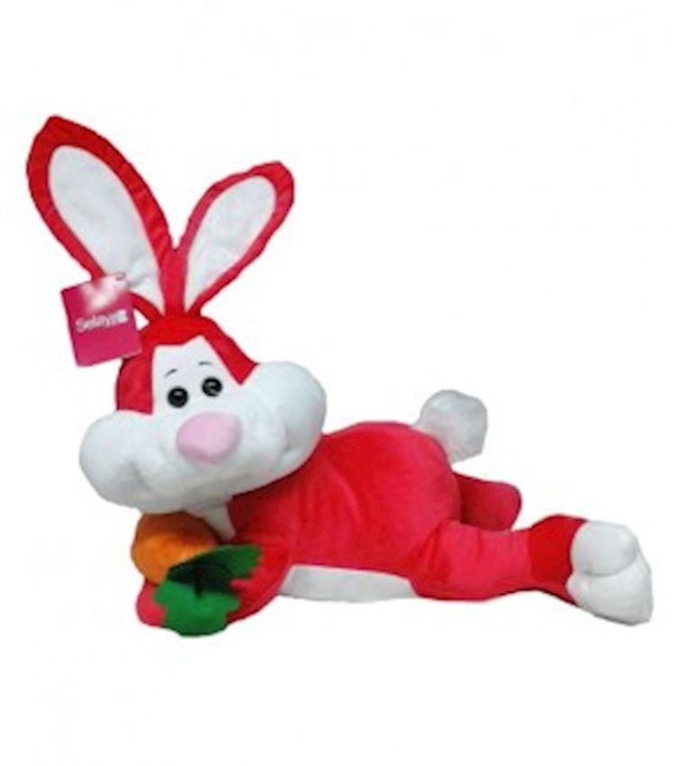 Toy Animal -PLUSH ANIMALS LYING  RABBIT